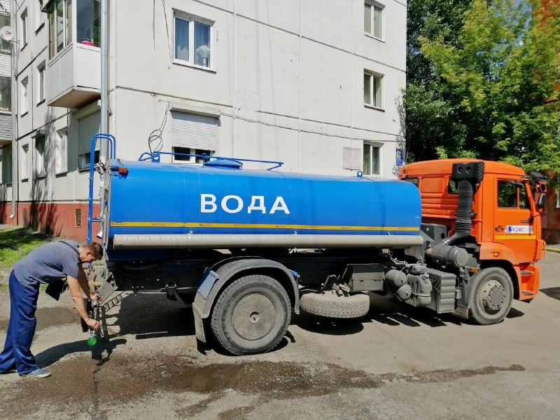 «КрасКом» отменил масштабные отключения холодной воды в Красноярске