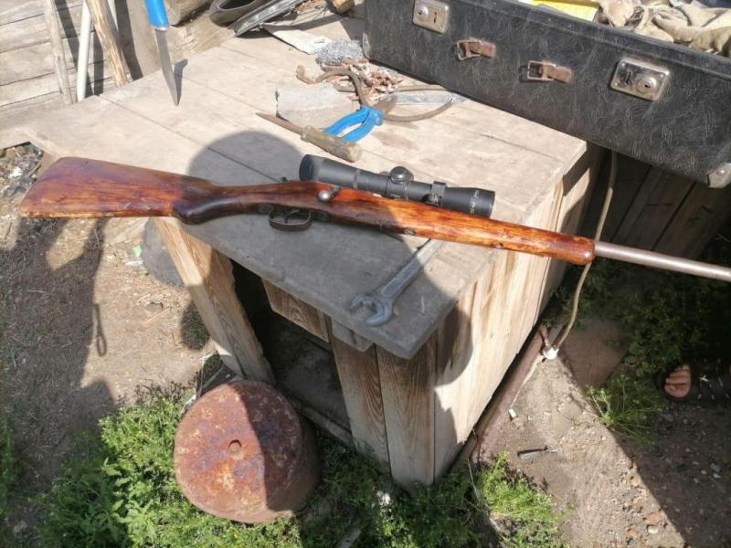 В Красноярском крае ранее судимый сельчанин прятал от полиции винтовку и 30 патронов