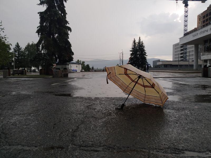 Погода на выходных в Красноярске будет пасмурной и до +9