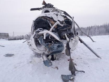 Пилот предстанет перед судом в Красноярском крае за разрушение вертолета и увечья двум пассажирам