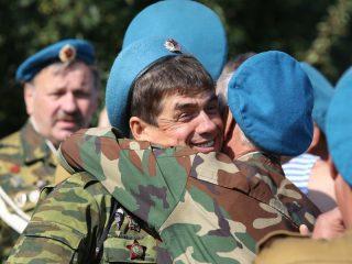День Воздушно-десантных войск отмечают в Красноярске