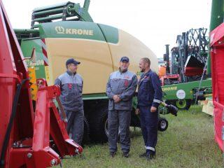 Главными событиями праздника стали выставка и демонстрация работы новой высокотехнологичной сельхозтехники