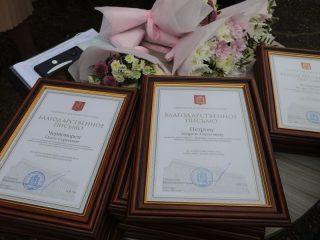 Также в преддверии празднования Дня воздушного флота Александр Усс наградил благодарственными письмами губернатора края представителей отрасли