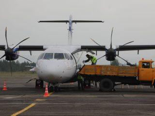 Ранее был решен вопрос по обновлению парка самолетов регионального авиаперевозчика. Было приобретено три самолета Л-410 УВП и два ATR-72, в текущем году поступили пять ATR-42