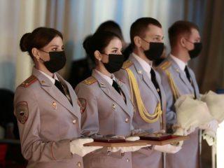 В Красноярске прошло награждение представителей силовых ведомств