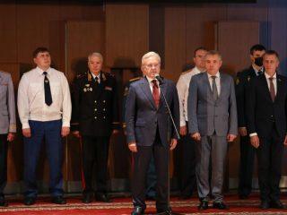 В церемонии принял участие губернатор Красноярского края Александр Усс