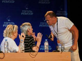 В красноярском театре драмы имени Пушкина прошел прогон спектакля «Ревизор»
