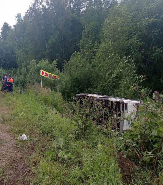 В Березовском районе иномарка подрезала рейсовый автобус
