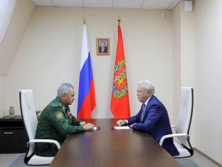 Стороны обсудили актуальные вопросы сотрудничества региона с оборонным ведомством страны