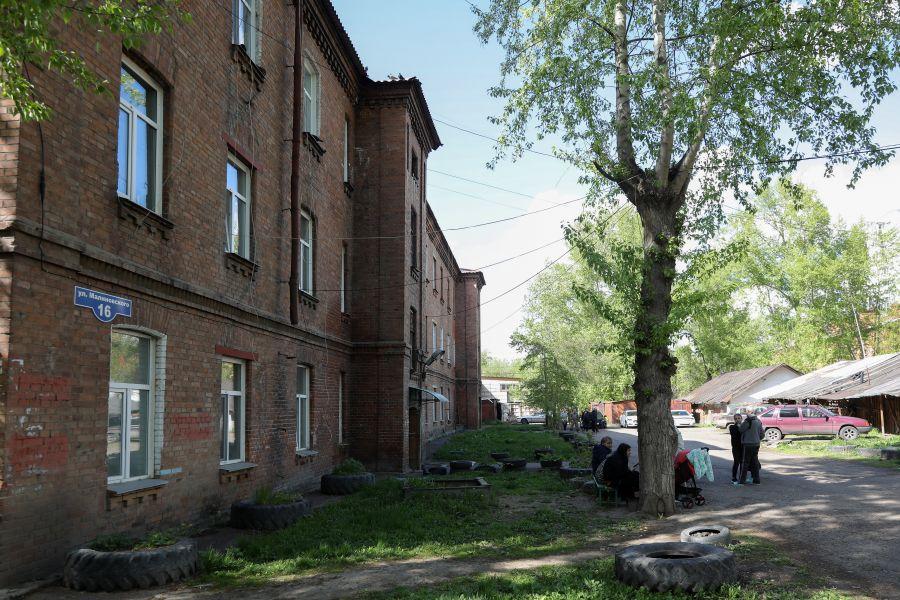 Землю бывшего военного городка в Красноярске передадут региону для нового района города