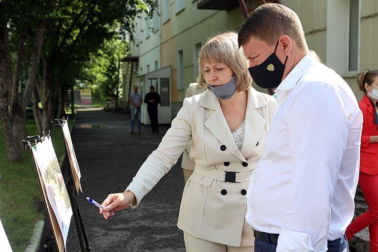 Микрорайон на окраине Красноярска получит благоустроенный сквер