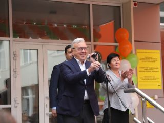 Губернатор Александр Усс поприветствовал первый набор десятиклассников