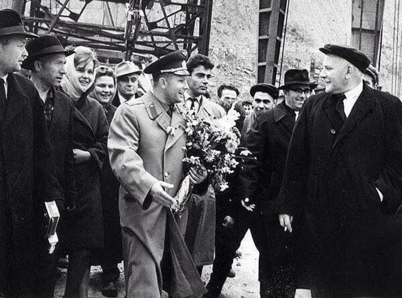 В этот день Красноярск посетил Гагарин