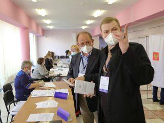 Зарубежные наблюдатели высоко оценивают организацию и ход выборов в Красноярском крае