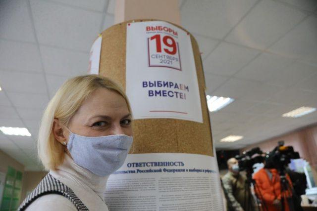 Избирательные участки к голосованию готовы. Красноярск. 16 сентября