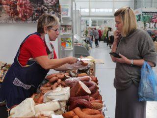Участвуют в выставке и производители сельхозпродукции