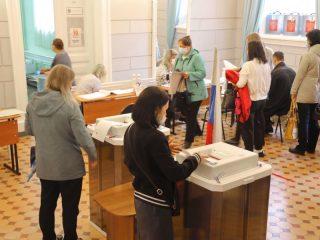 В 8:00 на территории Красноярского края открылись 2 147 избирательных участков – постоянных и временных