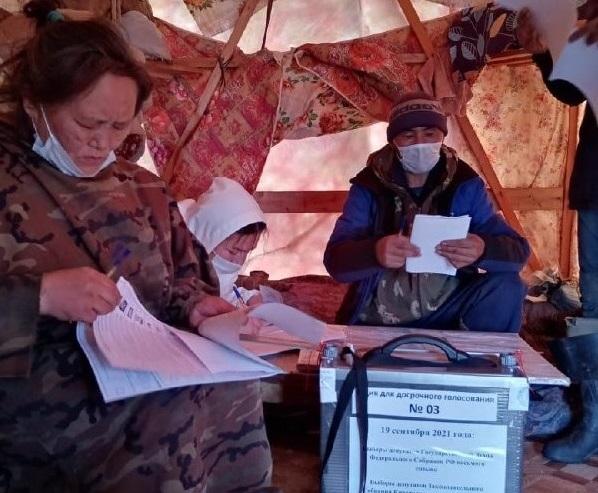 На севере Красноярского края началось досрочное голосование