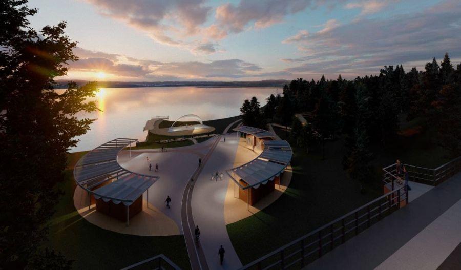 Будущий Нейтрино-парк в Железногорске