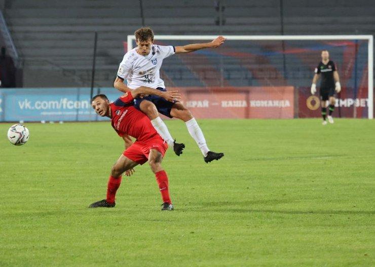 Футболисты «Енисея» обыграли «Балтику» из Калининграда