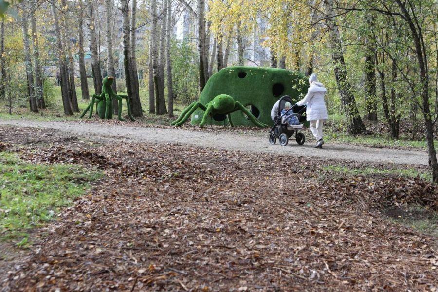 Мэр Красноярска рассказал историю благоустройства парка «Октябрьский»
