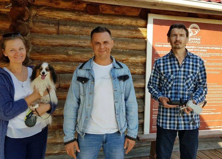 Отпугивать ворон и собирать мячики в гольф-клубе Красноярск будут двое не считая собаки
