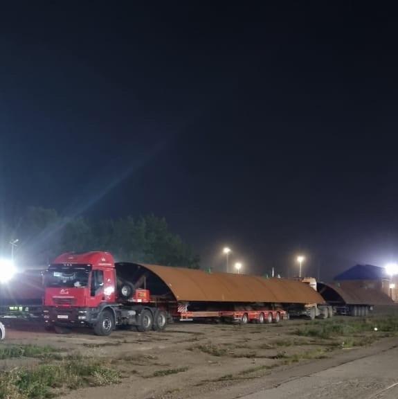 Водителей Красноярского края предупреждают о провозе негабарита в сторону Иркутска