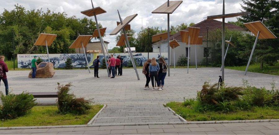 В Бородино на гранты благоустраивается общественное пространство «Угольград»