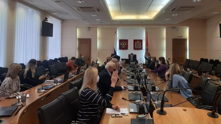 Губернатор Усс отказался от мандата депутата Заксобрания Красноярского края
