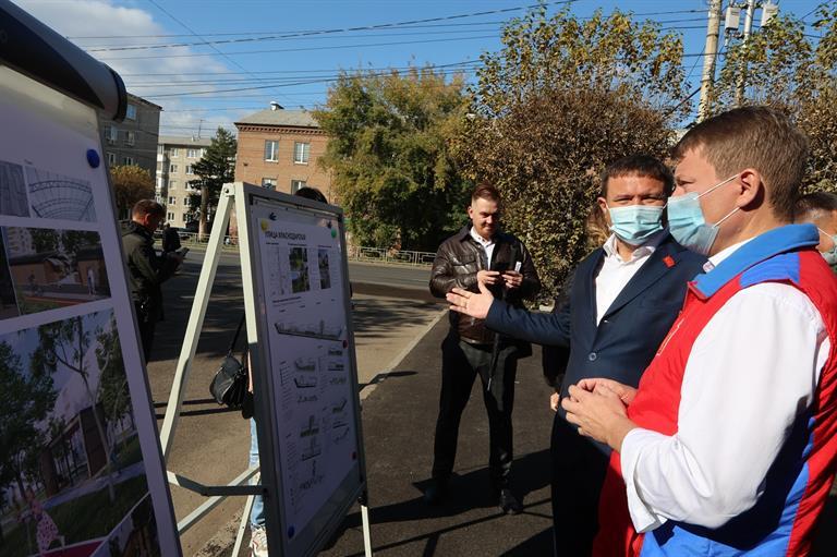 Благоустроенный бульвар появится в Зеленой Роще Красноярска