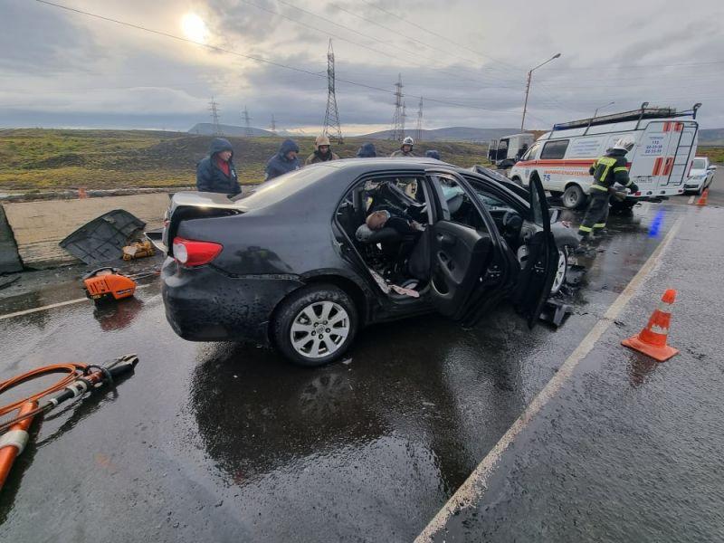 На трассе Норильск – Алыкель в ДТП с МАЗом погиб водитель легковой иномарки