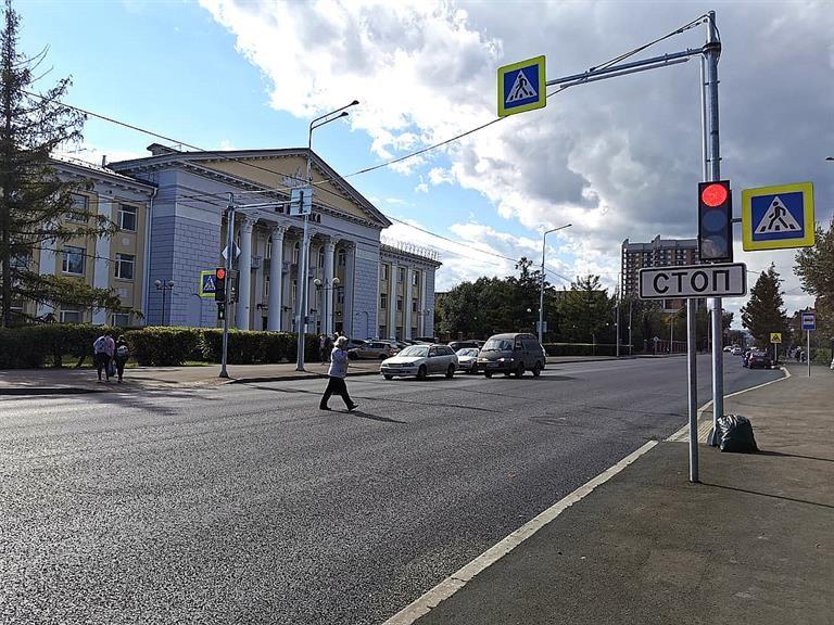 В Красноярске завершается масштабный ремонт улицы Павлова