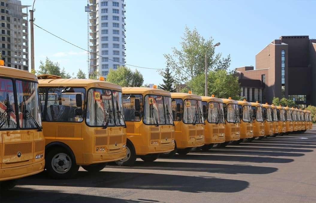 Регионы получат не менее 16 тысяч школьных автобусов и 5 тысяч скорых