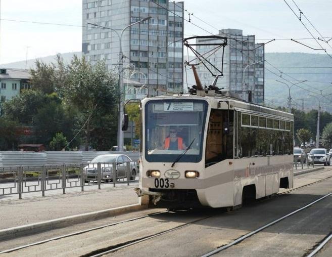 Мэрия Красноярска объявила тендер на поставку 19 новых трамваев