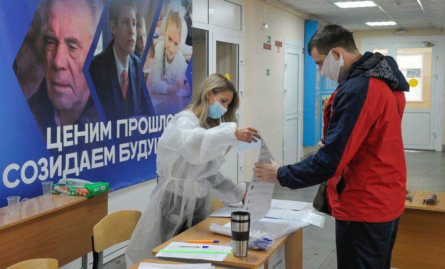 Треть избирателей проголосовала в Красноярском крае